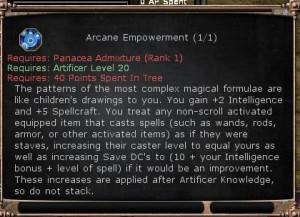 Arcane Empowerment